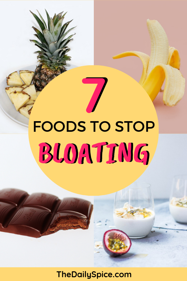 Foods to stop bloating