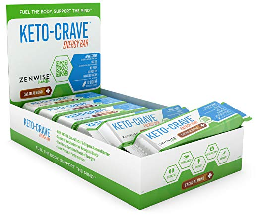 Keto Desserts You Can Buy: Keto Crave Energy Bar