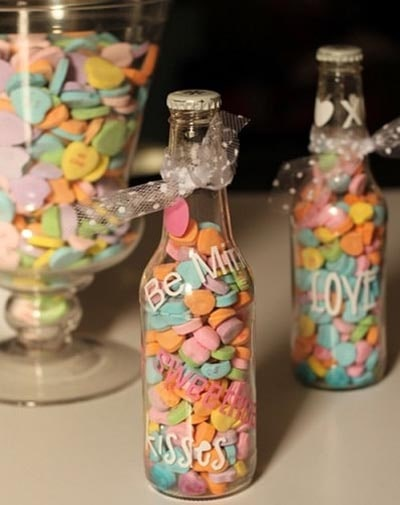 Valentines Day Mason Jar Gifts: Sweetheart Soda Pop