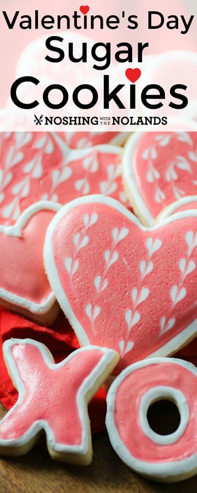 Easy Valentines Day Cookies: Valentine's Day Sugar Cookies