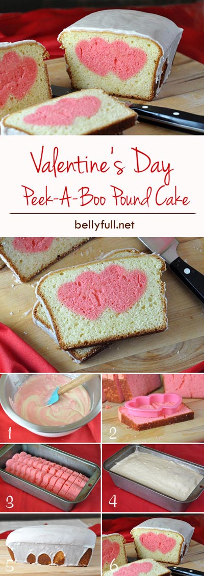 Valentines Day Treats: Valentines Day Peekaboo Cake Recipe