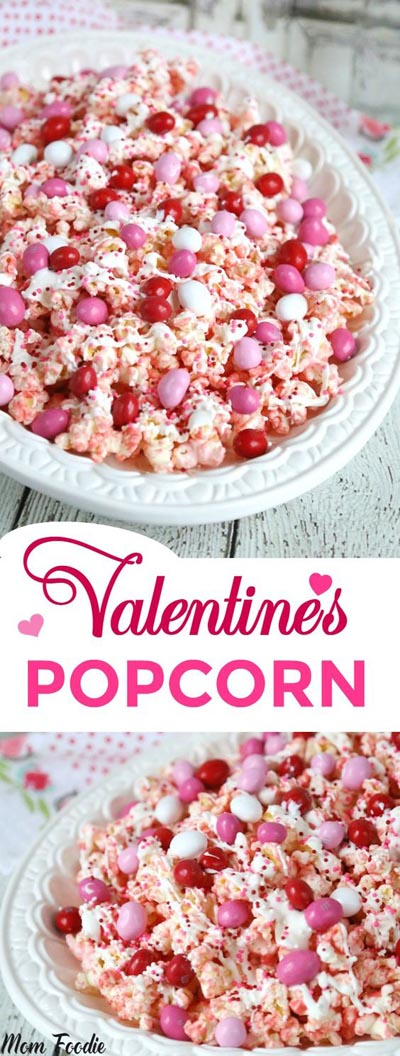 Valentines Day Treats: Valentines Day Popcorn Recipe