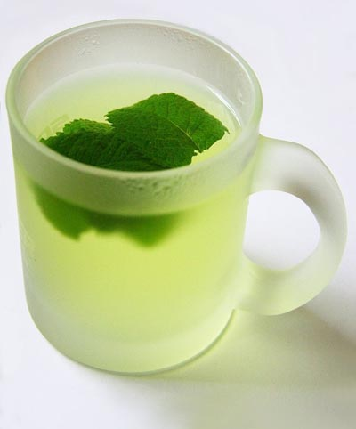 Foods To Stop Bloating: peppermint