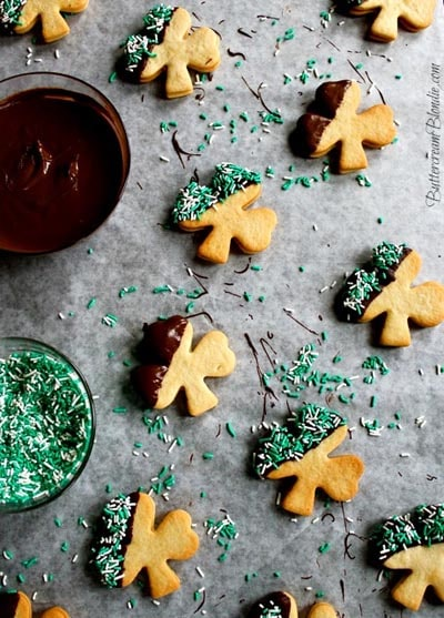 St Patrick's Day Desserts: Bailey's Irish Cream Cookies