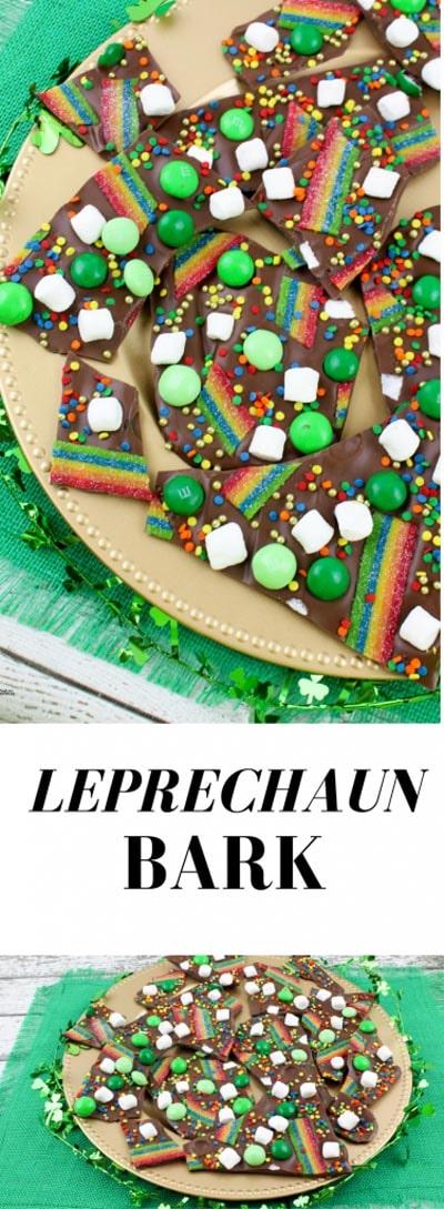 St Patrick's Day Desserts: Leprechaun Bark