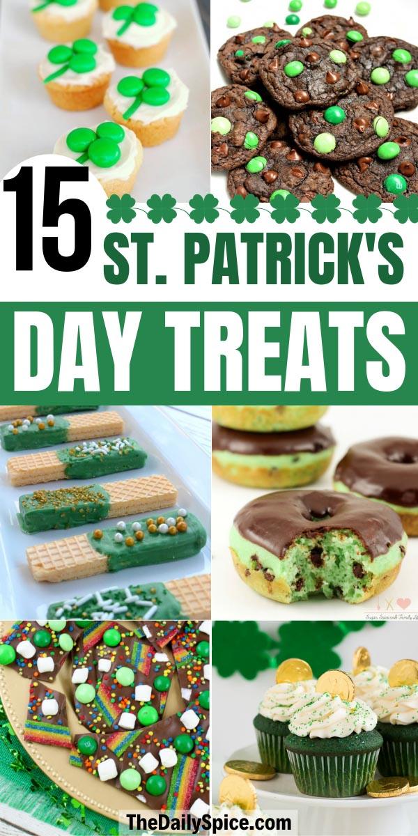 St Patricks Day Desserts and Treats
