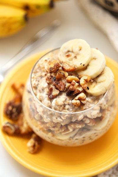 Banana Nut Overnight Oats