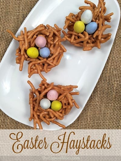 Easter desserts and treats: Butterscotch Haystacks