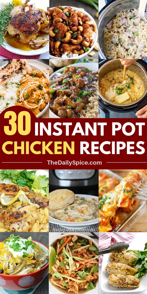 Chicken Instant Pot Recipes