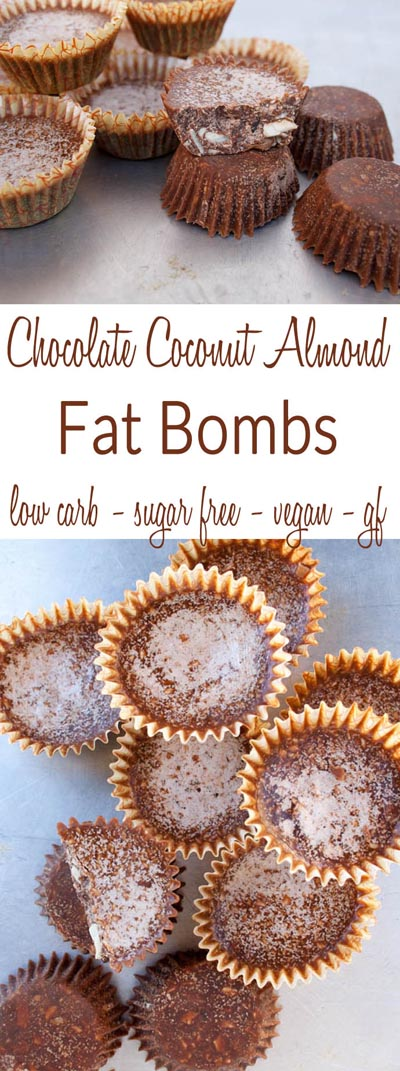 Keto Fat Bombs: Chocolate Coconut Almond Fat Bombs