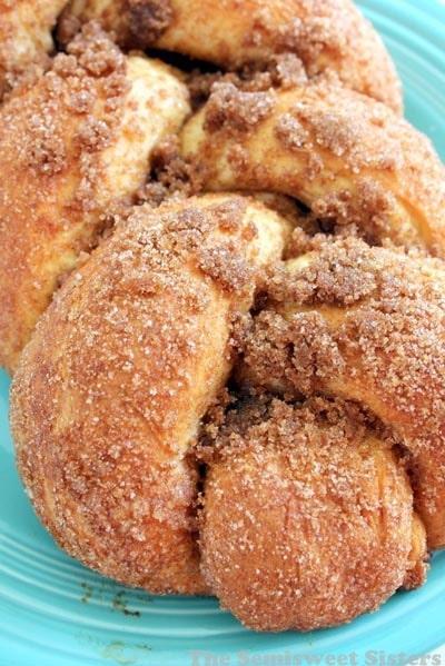 Homemade Baked Bread Recipes: Cinnamon Crunch Braided Bread