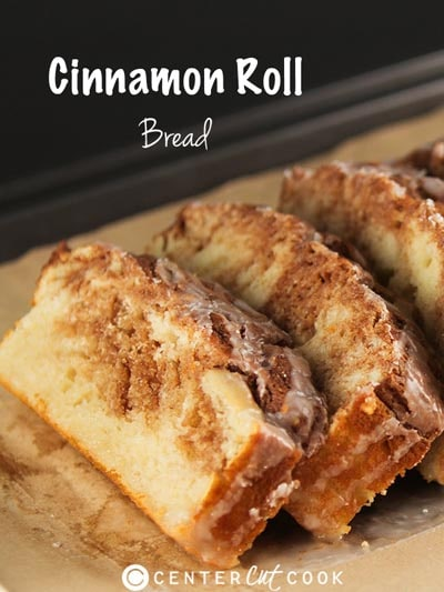 Homemade Baked Bread Recipes: Cinnamon Roll Bread