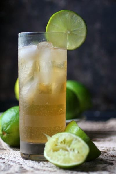 Keto Cocktails: Dark and Stormy Cocktail