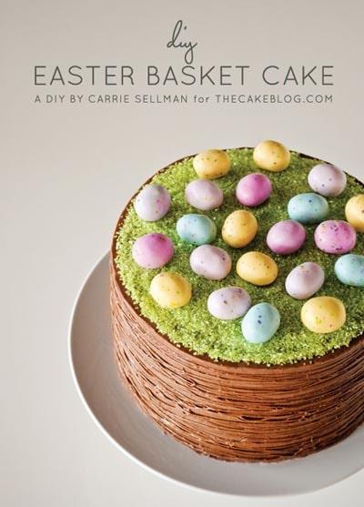 Easter desserts and treats: Easter Basket Cake
