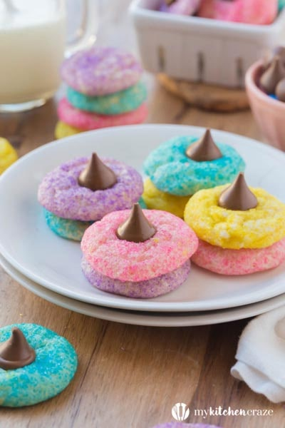 Easter desserts and treats: Easter Blossom Sugar Cookies