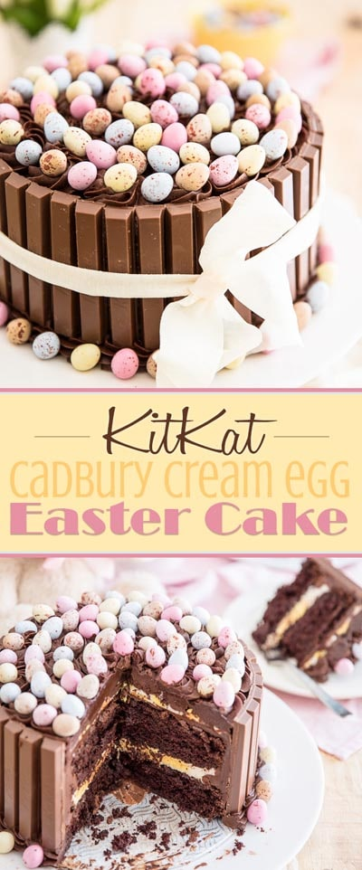Easter desserts and treats: Easter KitKat Cake
