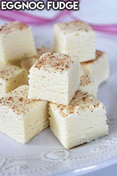 Fantastic Fudge Recipes: Eggnog Fudge