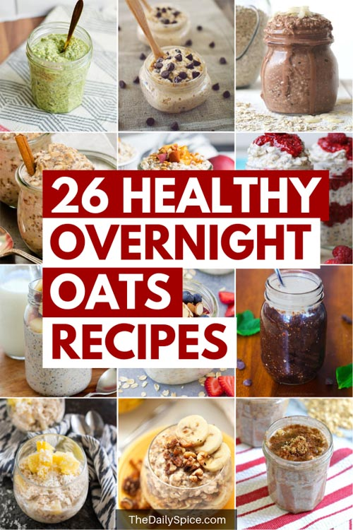 Healthy Overnight Oats Recipes