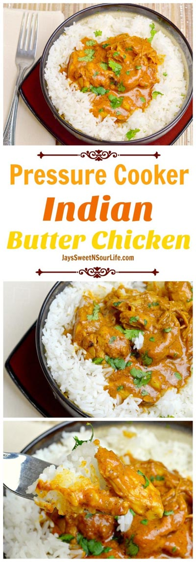 Chicken Instant Pot Recipes: Indian Butter Chicken