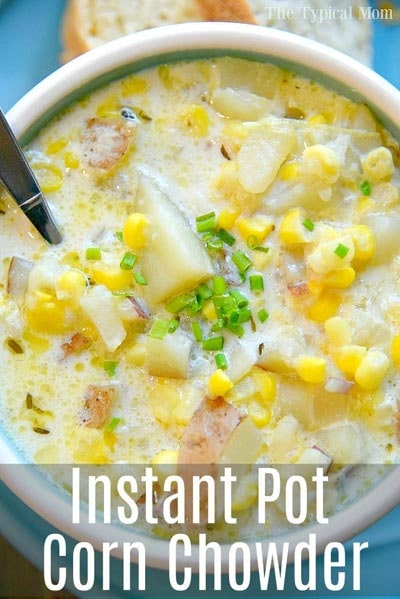 Instant Pot Potato Corn Chowder