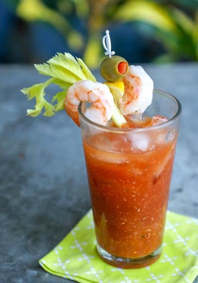 Keto Cocktails: Keto Bloody Mary Cocktail