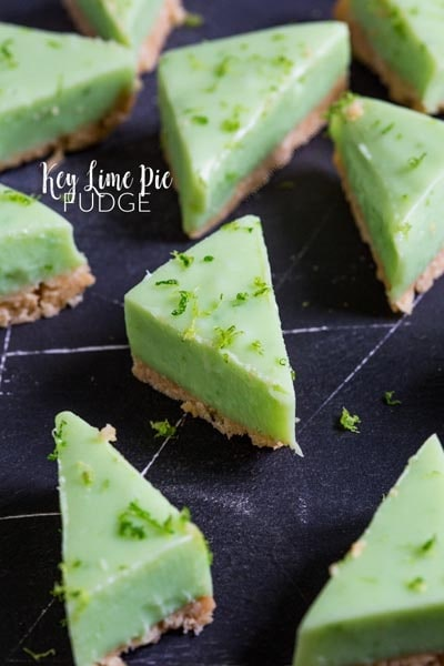 Fantastic Fudge Recipes: Key Lime Pie Fudge