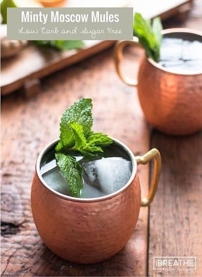 Keto Cocktails: Low Carb Moscow Mule