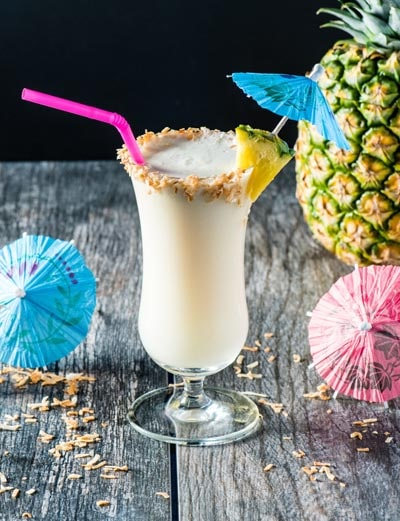 Keto Cocktails: Low Carb Piña Colada