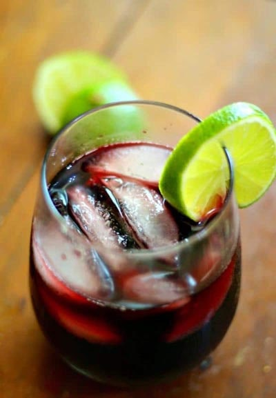 Keto Cocktails: Low Carb Red Sangria Recipe