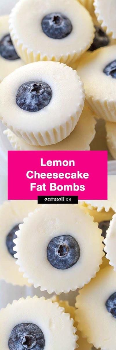 Keto Fat Bombs: No-Bake Lemon Cheesecake Fat Bombs