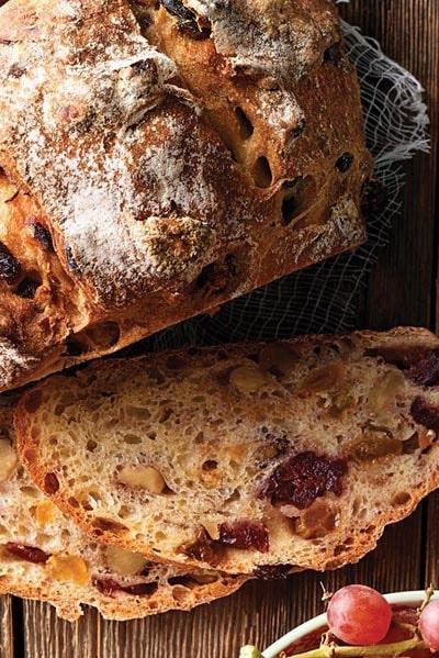Homemade Baked Bread Recipes: No-Knead Harvest Bread