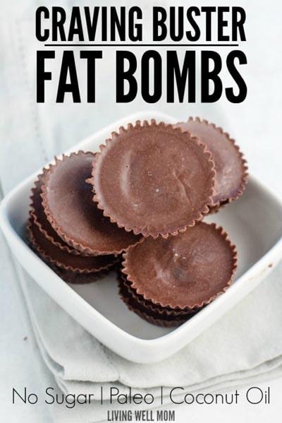 Keto Fat Bombs: No Sugar Craving Buster Fat Bombs