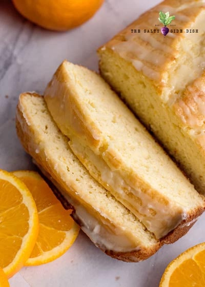 Homemade Baked Bread Recipes: Orange Bread with Orange Glaze