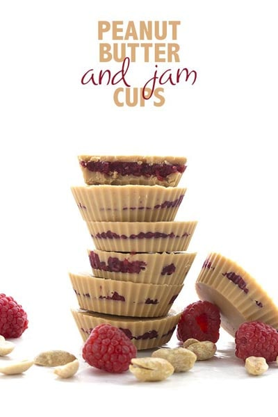 Keto Fat Bombs: Peanut Butter And Jam Cups