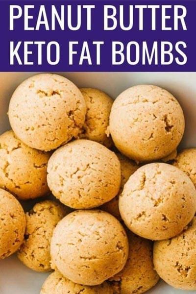 Keto Fat Bombs: Peanut Butter Fat Bombs