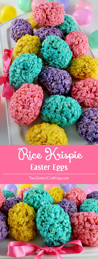 Easter desserts and treats: Rice Krispie Easter Eggs