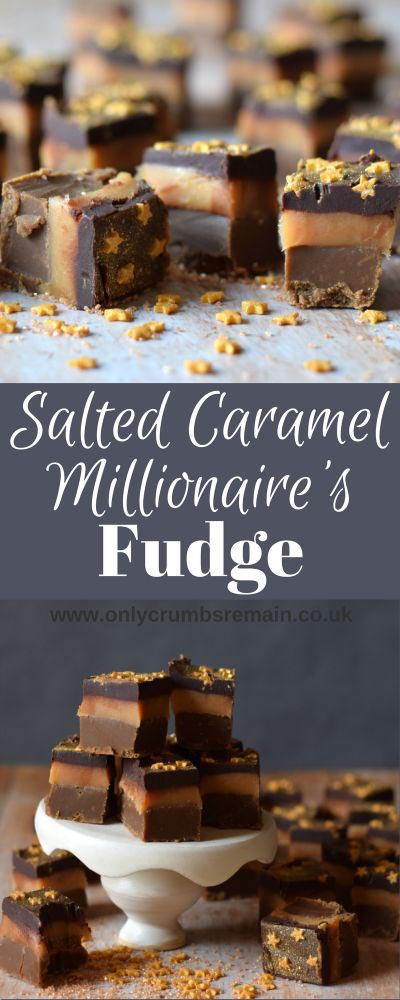 Fantastic Fudge Recipes: Salted Caramel Millionaire's Fudge