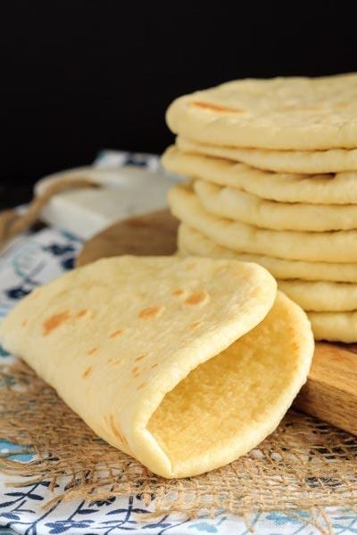 Homemade Baked Bread Recipes: Soft Flatbread Recipe