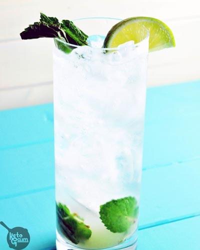 Keto Cocktails: Vodka Mojito