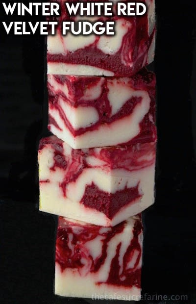 Fantastic Fudge Recipes: Winter White Red Velvet Fudge