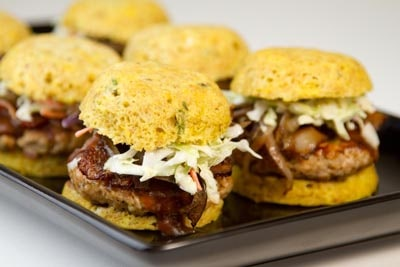 Tasty Keto BBQ Recipes: Bacon-Cheddar BBQ Pork Sliders