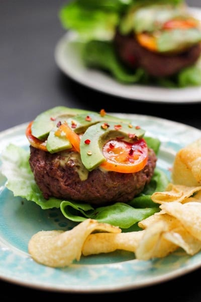 Tasty Keto BBQ Recipes: Blat Bison Burger