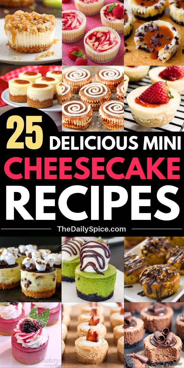 Mini Cheesecake Recipes