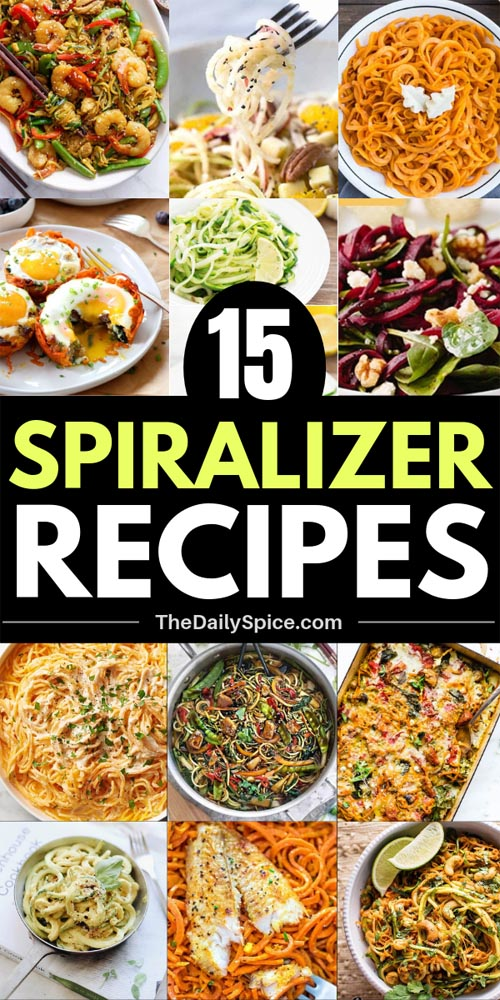 Healthy Spiralizer Recipes