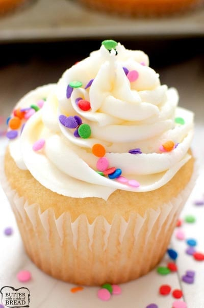 Buttercream frosting recipes: Marshmallow Buttercream Frosting