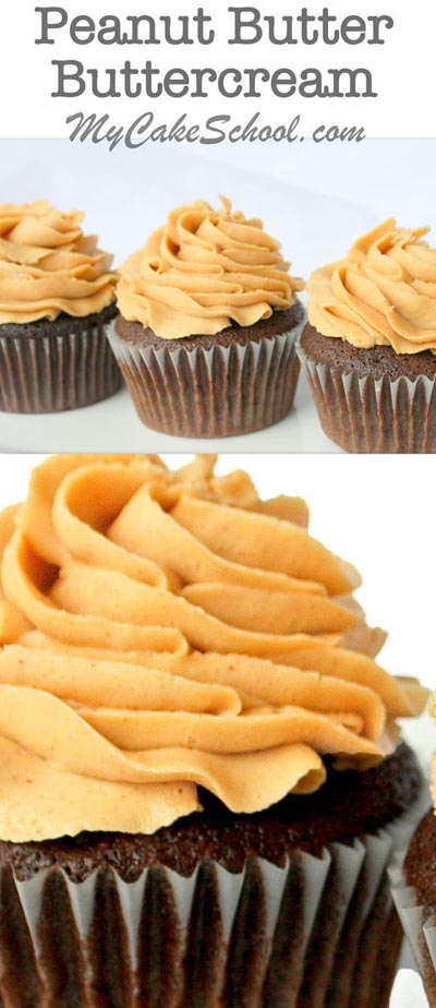 Buttercream frosting recipes: Peanut Butter Buttercream Recipe