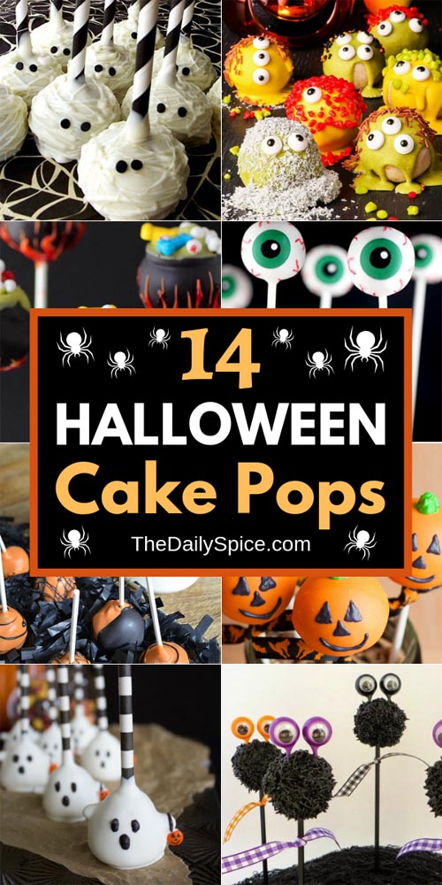 Halloween Cake Pops Ideas