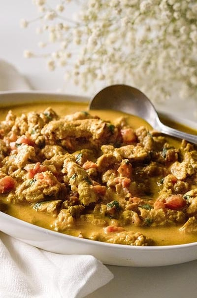 Vegetarian Keto Recipes: Vegetarian Butter Chicken