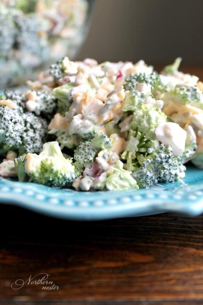 Filling Keto Salad Recipes: Creamy & Crunchy Broccoli Salad