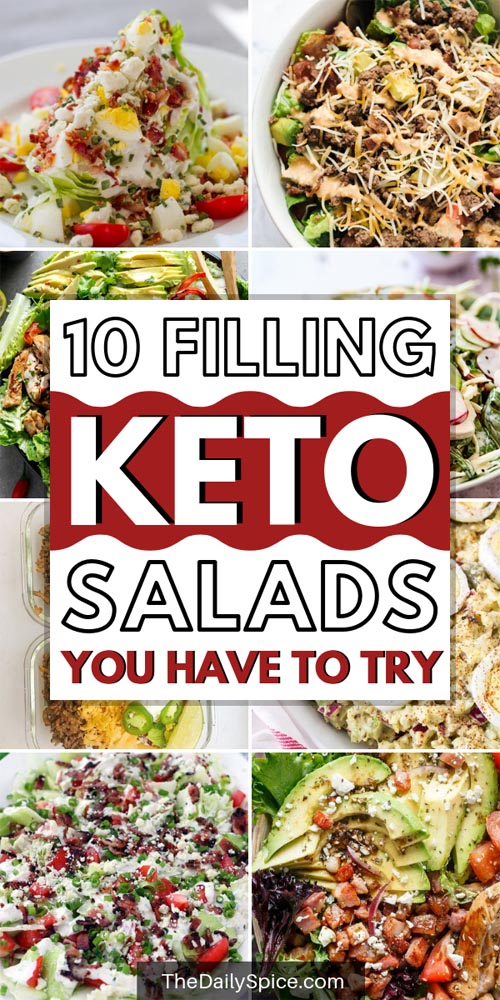 Hearty and Filling Keto Salad Recipes